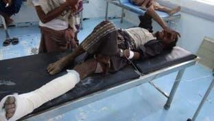 الحديدة.. انفجار لغم حوثي يصيب مواطنا يمنيا ويدمر سيارته