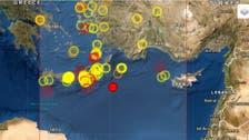 USGS reports magnitude 6 earthquake in Eastern Mediterranean felt in Egypt, Lebanon