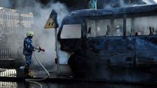 شام: دمشق میں فوجی بس میں دو دھماکے، 13 افراد ہلاک، تین زخمی