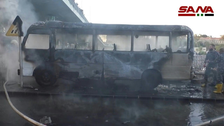 Syria explosion targeting army bus kills 13, wounds three in Damascus