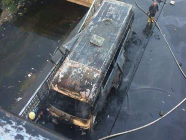 عبوتان ناسفتان تستهدفان حافلة في دمشق.. وتفكيك ثالثة