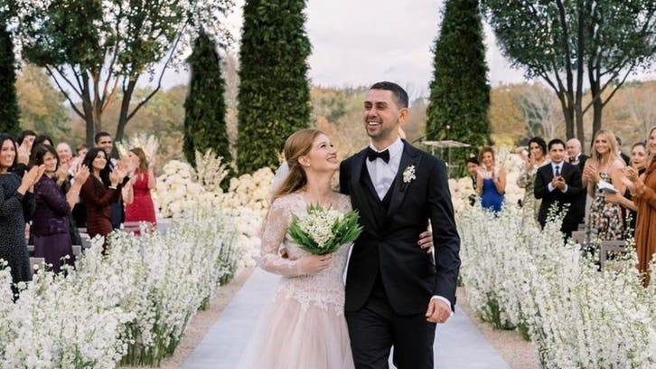 In pictures: Jennifer Gates, Nayel Nassar share photos of their $2 mln wedding