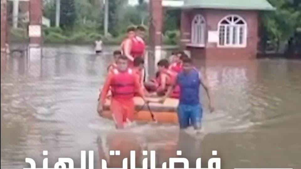 فيضانات الهند والنبيال تودي بحياة أكثر من مـئة شخص