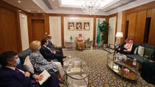 Saudi FM Prince Faisal meets with US Special Envoy for Iran Robert Malley