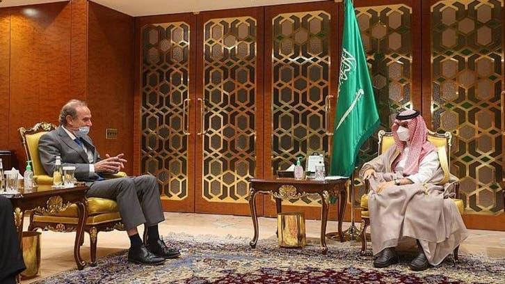 Saudi Arabia's FM discusses Iran nuclear talks with EU envoy