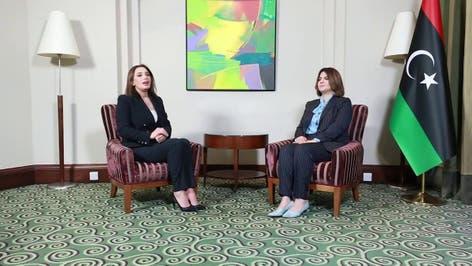 مقابلة خاصة مع وزيرة الخارجية الليبية والتعاون الدولي نجلاء المنقوش