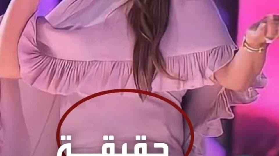 جسم غريب تحت فستان إليسا في بغداد.. واقي رصاص؟ الفنانة تحسم الجدل