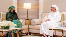 اماراتی وزیر خارجہ کی دبئی ایکسپو میں اقوام متحدہ کی نائب سیکریٹری جنرل سے ملاقات