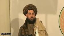 ملّاعمرکے بیٹےیعقوب طالبان کاعوامی تشخص بہتربنانے کے لیے پہلی مرتبہ ٹی وی پرنمودار