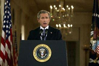 """بوش يستخدم مجددا تعبير"""" حرب صليبية"""""""