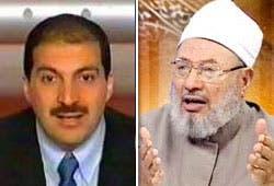القرضاوي وعمرو خالد يدشنان ثاني يوم عالمي للقدس على الإنترنت