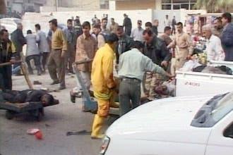110 قتلى و133 جريحا في هجوم انتحاري دموي في الحلة
