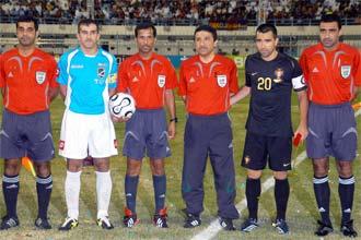 تعادل السالمية الكويتي مع منتخب البرتغال ايجابا في مباراة ودية
