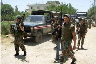 Five Lebanese soldiers killed in camp clashes