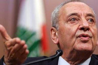 """بري:على الأغلبية البرلمانية في لبنان قبول مبادرتي بدون""""لكن"""""""