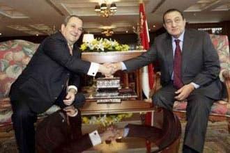 باراك يلتقي مبارك لبحث أزمة أنفاق تهريب الأسلحة وأمن الحدود