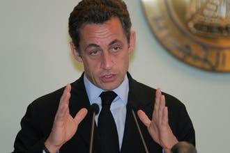 ساركوزي يعلق الاتصالات مع سوريا لحين إثبات نيتها بحل أزمة لبنان