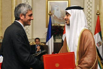 UAE agrees to French base by 2009