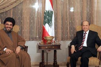 Aoun-Nasrallah called Lebanese Romeo-Juliet