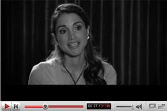 Jordan's Queen Rania launches YouTube forum