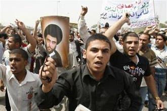 """الصدر يعرب عن استعداده لحل """"جيش المهدي"""" بأمر المرجعية الدينية"""
