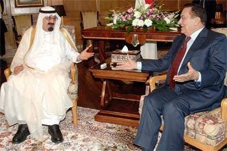 قمة سعودية مصرية بشرم الشيخ لبحث أزمة لبنان والأوضاع الفلسطينية