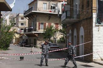 الأمن اللبناني يطارد المشتبه به بقتل عنصرين من حزب الكتائب بزحلة