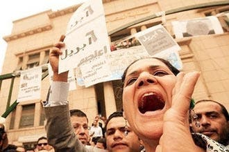 Egypt frees girl held for Facebook protest group