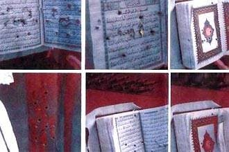 US soldier removed from Iraq for shooting Quran