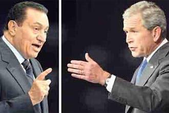 Mubarak snubs Bush at World Economic Forum