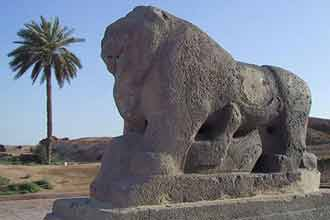 Ancient city of Babylon destroyed by US base
