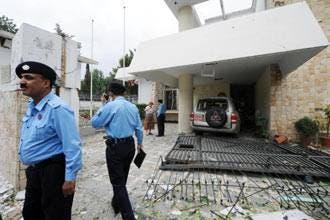 دهها کشته و زخمی بر اثر انفجار در نزدیک سفارت دانمارک در پاکستان