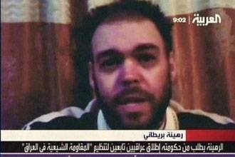 British hostage in Iraq killed himself: kidnappers