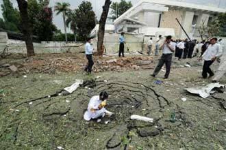 Danish embassy bomber from Mecca: Qaeda man