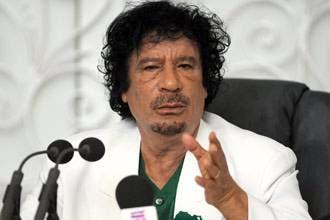 Gaddafi warns 'arrogant' Iran of Iraq fate