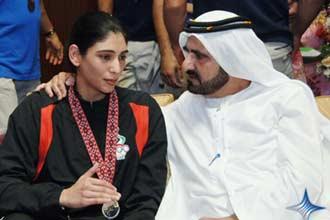 UAE 'karate princess' to make Olympic history