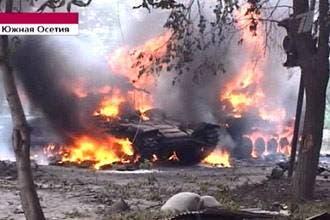 درگیریهای اوسیتیای جنوبی صد ها کشته برجای گذاشته است