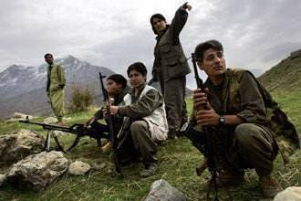 Turkey says planes bomb PKK post in Iraq