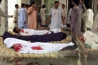 كشته شدن بيش از 45 تن در دو حمله انتحارى به یک کارخانه اسلحه سازی در اسلام آباد