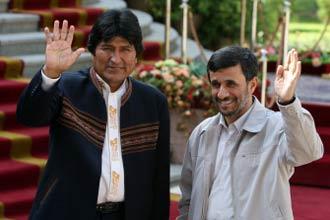 Iran and Bolivia are natural allies: Ahmadinejad