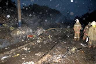 بر خورد یک هواپیمای مسافربری روس به کوه 88 کشته برجای نهاد
