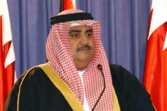 وزير خارجية البحرين يدعو لمنظمة تضم العرب وإسرائيل وإيران