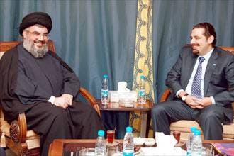 Nasrallah meets Hariri secretly on Lebanon unity