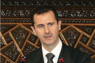 الأسد يطالب إسرائيل ببراهين السلام ويحذر من الاتفاق الأمني بالعراق