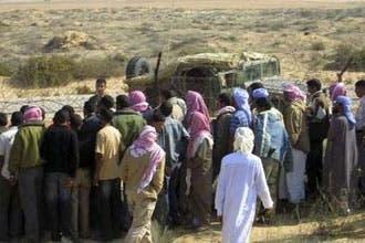 بدو سيناء يطلقون 25 شرطيا بينهم ضابط كبير بعد خطفهم بساعات