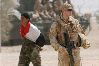لندن تنفي إعلان بغداد سحب القوات البريطانية من العراق في2009