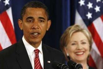 """أوباما يعلن تعيين """"منافسته"""" السابقة كلينتون وزيرة للخارجية"""