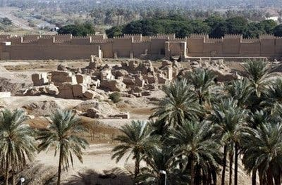 Babylon's history damaged by modern day war