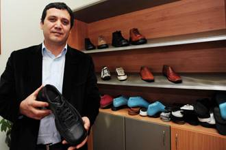 Maker of Bush-attack shoes swamped by orders