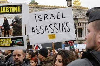 World wide protests for Gaza denounce Israel